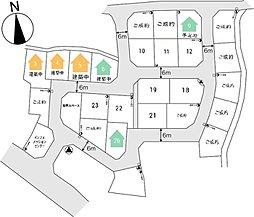 東武和泉駅まで約370m 足利朝倉町26区画の大型分譲地