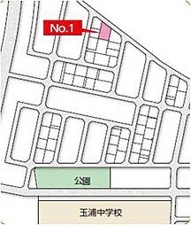 岩沼市恵み野/トヨタウッドユーホーム株式会社:案内図