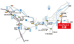 【セキスイハイム】ハイムプレイス三栖:案内図