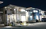 大容量ソーラー搭載住宅。ゼロ・エネルギー・ハウス(ZEH)仕様の高気密高断熱住宅です。