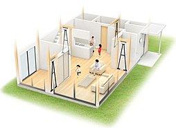 熊本地震にも耐えた、住友ゴムの制震装置MIRAIE搭載の地震に強い家。耐震+制震の技術が守る大切な家族と大切な家。地震は減らせないが、MIRAIEなら地震の揺れを最大95%低減できます。,4SLDK,面積95.08m2,価格税込価格:3550万円(5号棟家具付)(外構工事代、全居室照明代込),新京成電鉄「五香」駅 徒歩5分,,千葉県松戸市五香西2-3-35