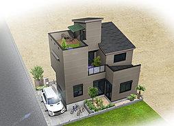 【TX線南流山駅】エドケンハウスの制震デザイン住宅(屋上バルコ...
