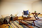【バリアフリー収納スペース】季節家電やイベントアイテムの収納に活躍します。