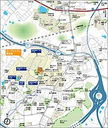 【パナホーム】ガーデンシティ舞多聞<宅地>(建築条件付):案内図