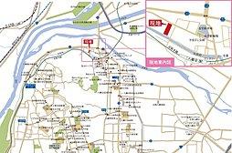 トキメキ・パナホーム街区・八幡科手(建築条件付):案内図