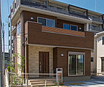 3号棟:敷地面積/135.39m2(40.95坪) 建物面積/104.68m2(31.59坪)
