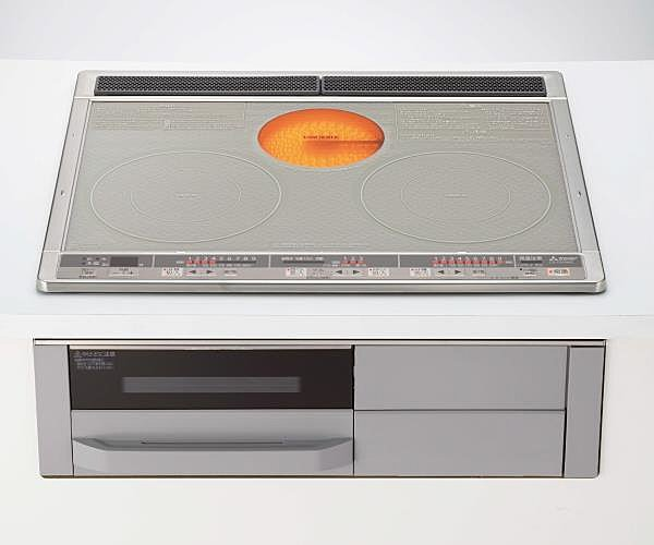 【【クリナップ】IHクッキングヒーター】炎を使わずに鍋そのものを発熱。高火力からトロ火までどんなお料理にも対応できるIHクッキングヒーター