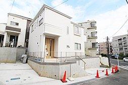 小田急線「柿生」駅徒歩7分、平坦な道のり、信号待ちなし 陽当良好