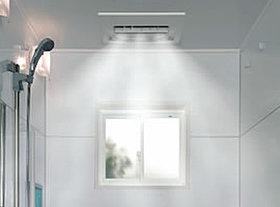 ガス浴室暖房&ミストサウナ「ミストカワック」標準装備