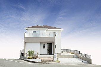 中広川II団地 モデルハウスの外観です