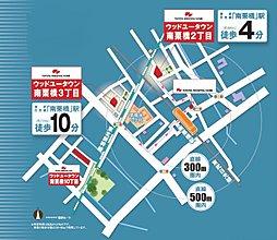 東武日光線「南栗橋駅」(770m)徒歩10分 南栗橋3丁目【トヨタウッドユーホーム】:交通図