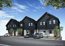 カントリーログハウスの家 新築デザイナーズ住宅 全3棟