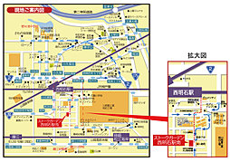 ストークガーデン西明石駅南:案内図