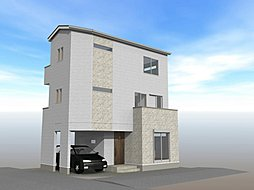 車庫付き3LDK・戸田市中町2丁目【新築戸建】全2棟の外観