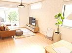 お気に入りの家具も思いのまま配置できる広々リビングです♪