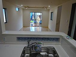 キッチンには浄水器が付いています!