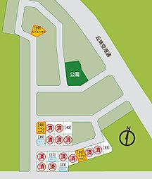 【三愛地所】 [土地] グリーンタウン栄町東:案内図