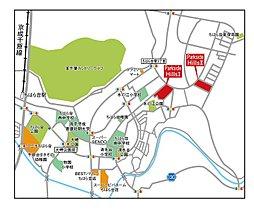 パークサイドヒルズII ちはら台 ~緑あふれる町並み。教育・商業施設も充実~:交通図