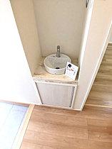 A号棟玄関手洗い器