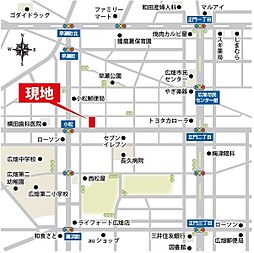 【Your Life Town in広畑区小松町】:案内図