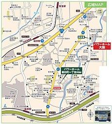 パワーホーム春日町1丁目【全3区画】:交通図