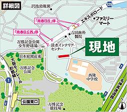 【パワーホーム南春日丘】第1期分譲開始:案内図