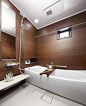 浴室TVや保温構造の浴槽で快適なバスタイムを。