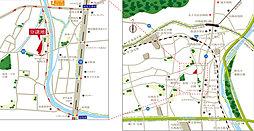 グレースタウン川西能勢口-加茂-【新築分譲 全5区画】:案内図