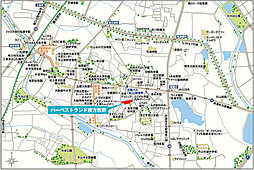【フジ住宅】ハーベストランド枚方牧野(全34区画の街):案内図