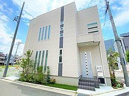 【フジ住宅】アフュージア八尾南久宝寺(現地3号地モデル分譲開始)の外観