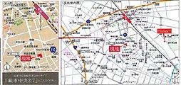 へーベルハウス・アーバンステージわらび中央:案内図