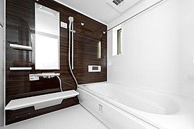 地デジ対応のテレビが浴室に標準搭載!一日の疲れを癒してくれま