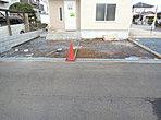 カーライフを満喫できる駐車スペース。