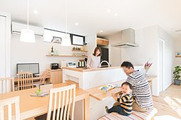 一級建築士とつくるデザイン住宅【城陽市久世里ノ西6区画】の外観