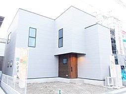 【下阪本6丁目】大きな吹抜けの開放的なリビングの新築戸建