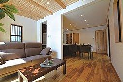 木の温もりあふれる無垢の邸宅「岩倉幡枝町」※1号地竣工の外観
