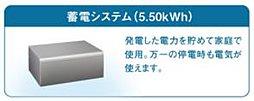 5.50kWhの蓄電システム