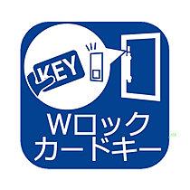 荷物を持っていてもラクラク操作。Wロックで更に防犯力アップ。
