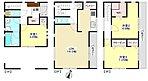 建物約33坪の空間を最大限に活用したゆとりある間取り。