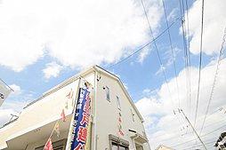 ■外観■ 流行に左右されず、将来にわたって価値が継続される「上質」な住まい。親しみやすいデザインの外観は街並みに自然と調和されております。,4LDK,面積95.17~97.20m2,価格3,480万円,JR南武線「西国立」駅 徒歩18分,,東京都国立市青柳3丁目