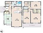 号棟毎に異なる間取りは暮らす人のことを考えた設計がされています。部屋数が最低でも4つありますので、お子様それぞれのお部屋を持たせることも可能です。
