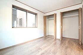 全室に収納クローゼットを設置する事で居住空間を最大限に利用可
