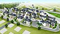 【上大岡駅】~開発道路幅員5.5mを確保、みなとみらいを望む2階建て新築全17邸~