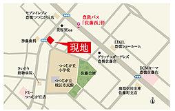 サーラガーデン佐藤五丁目案内図