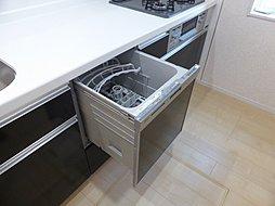 ビルトイン式の邪魔にならないスマート仕様。複数コースのある使い勝手の良い食器洗い乾燥機です。