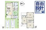 建物プラン例 (5号地)建物価格1451.52万円、建物面積93.17m2 ※シンフォニープラン※上記プランは一例です。プランはお客様が自由に決定できます。※外構・付帯工事費別