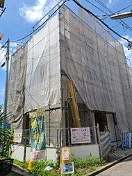 手数りょう無 オンライン可能 山手線田端、尾久駅 パワーボード耐震3 全3棟ラストA号棟の外観