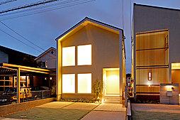 【サンヨーハウジング名古屋】日進市竹の山1期デザイナーズハウスの外観