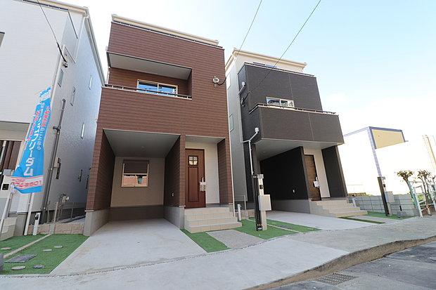 本日、ご覧になれます 【グラファーレ 東区筥松1丁目】新築分譲住宅 B