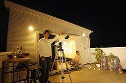 夜は星空観察も楽しめます!